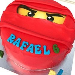 Bakken & Zo Ninjago taart