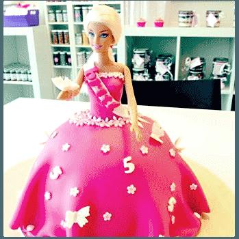 Kinderfeestje Prinsessentaart Bakken & zo