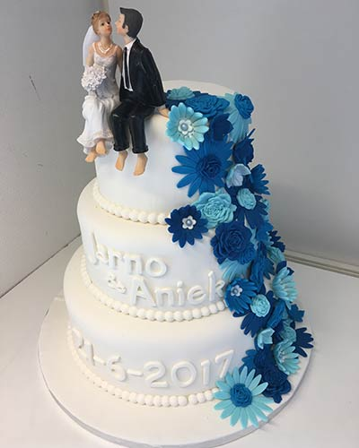 Bruidstaart Bakken & Zo