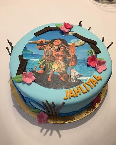 Verjaardagstaart Disney Bakken & Zo