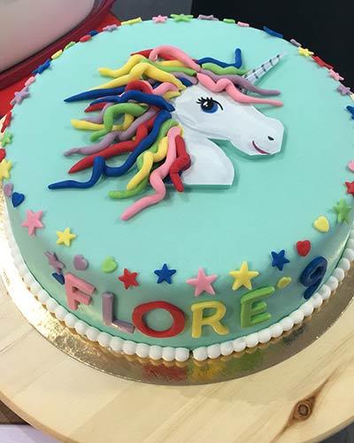 Unicorn verjaardagstaart Bakken & Zo