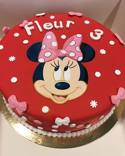 verjaardagstaart Minnie Mouse Bakken & Zo