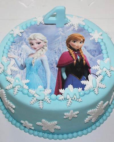 Verjaardagstaart Prinsessen Elsa Bakken & Zo